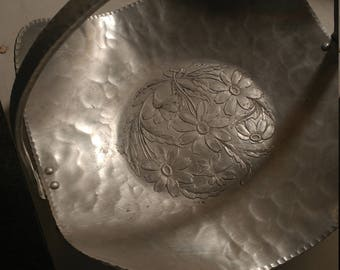Vintage Serving Basket Tray Entertaining Dinning