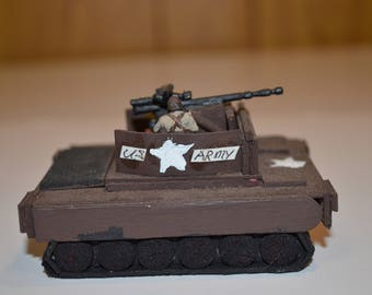 Handmade WWII US Army (Assault) tank #2