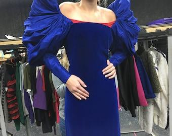 jaqueline de Ribes 80's Gown