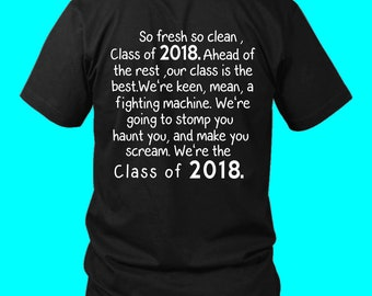So Fresh So Clean-class Of 2018 T Shirts