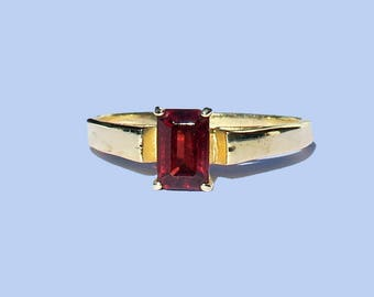 NALA 925silver Gold-plated with garnet