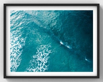 Beyond The Break (Cornwall Collection) - Aerial Photography Wall Art