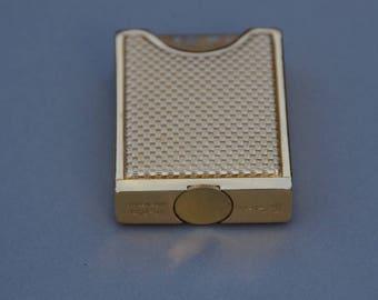 Embassy, gold metal purse spray