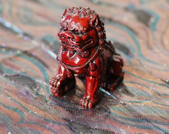 Vintage Heavy Shiea Lion/Dog Statue