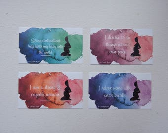 Pregnancy Affirmation Cards