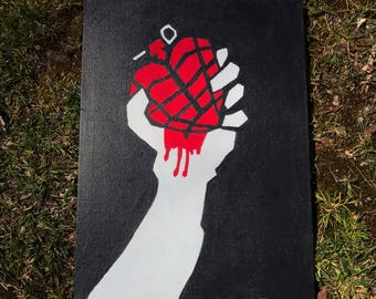 American Idiot Green Day Painting