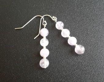 Sterling Silver Lavender Amethyst Earrings