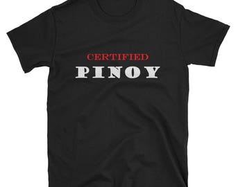 Pinoy Filipino Short-Sleeve Unisex T-Shirt Philippines print art