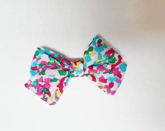 Sailor watercolor bow