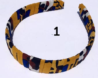 African Fabric head-band