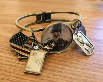 Support Our Soldiers customized bracelet