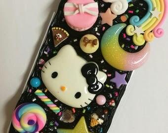 whip cream phone case for i phone 6 plus kitty
