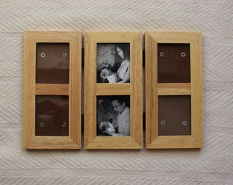 Vintage Photo Frame Wood