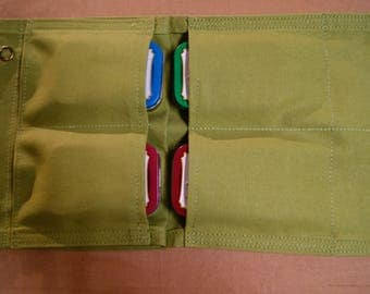 Prepper Pouch 5 pockets. General Purpose Pouch. Bush Crafting, hiking, Camping, Fishing, Hunting, First Aid, General Household.