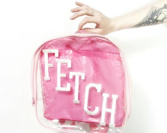 Clear Intentions bookbag