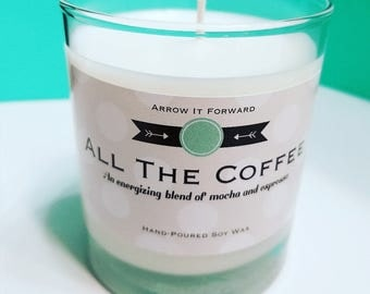 ALL THE COFFEE Hand-Poured Soy Wax Candle