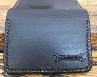 Mens Bi-Fold Wallet // Slim Leather Wallet, Minimalist Wallet