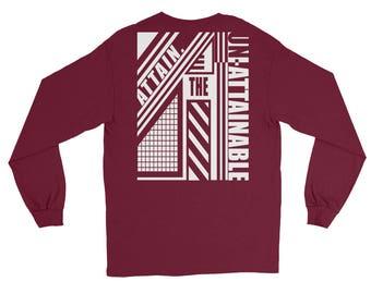 ATTAIN. The Un-Attainable - Abstract - Long Sleeve T-Shirt