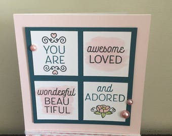 Handmade You Are More Cards