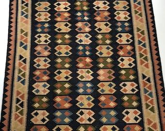 """004670 Oriental Kilim Persian 5'7""""x8'6"""""""