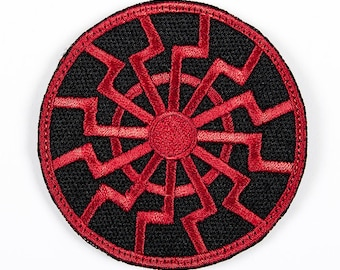 "Embroidered PATCH ""Black Sun"""