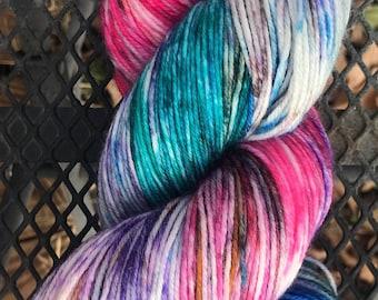 Tweenager-Hand Dyed Sock Yarn-75/25 SW Merino/Nylon