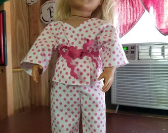 18in doll pajamas