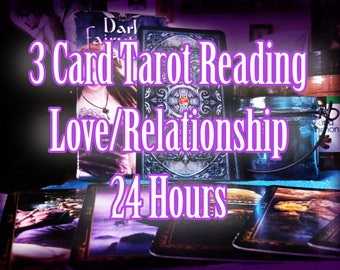3 Card Love/Relationship Tarot Reading