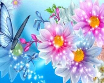 New 5D round diamond embroidery cartoon mouse wall decorative puzzle diamond DIY diamond mosaic picture diamond