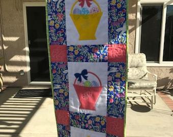 Easter basket quilt