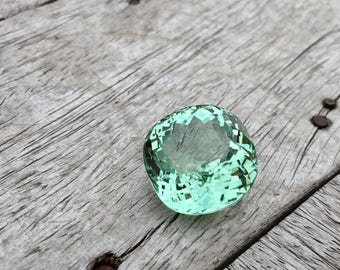 25.80 Carate Loop Clean Very Beautiful Faceted Mint Green Color Tourmaline With Beautiful Luster From Mozambique.