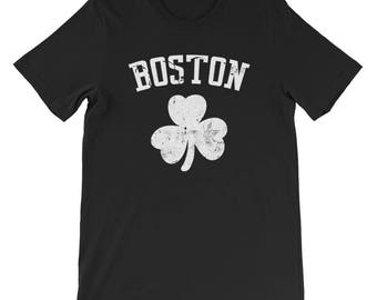 Boston Shamrock St. Patrick's Day Tshirt