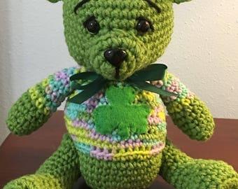 Lucky, the Amigurumi Teddy Bear