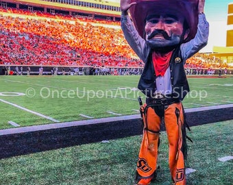 Oklahoma State University Pistol Pete - Canvas Print