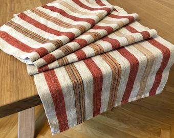 Vintage Swedish Linen Table Runner