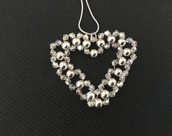 Silver and silvertone beads