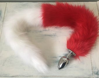 Extra Long and Fluffy Vegan Fur Tail Plug