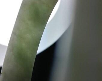 Light green Jadeite Jade bangle bracelet