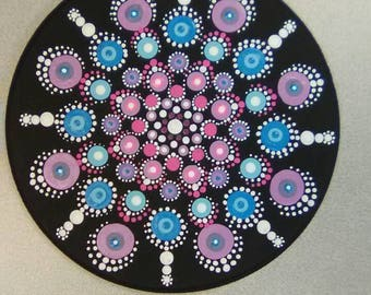 Beautiful hand painted mandala
