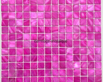 Nacre-Mosaique shower Italian Odyssey Rose