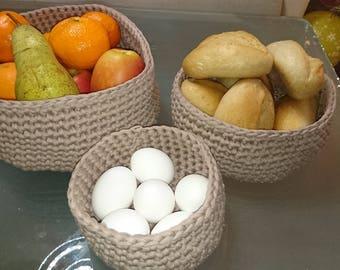 Three-piece Basket
