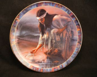 Meditation Plate / By LEE BOGLE Bradford Exchange Third Issue