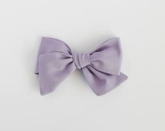 Thistle // Lavender Handmade Alice Bow