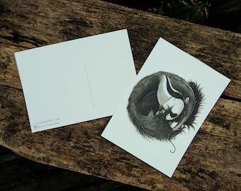Brace Yourself postcard