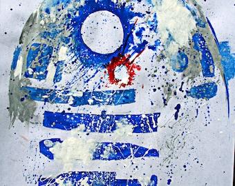 R2D2 Original Painting