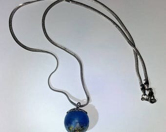 Pendant sphere - blue