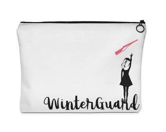 Winterguard - Sabre - Carry All Pouch  - Two Sizes, Colorguard, Winter Guard, Drum Corps
