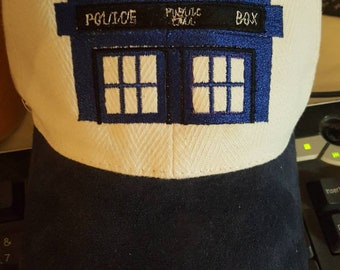 Doctor Who Police Box hat