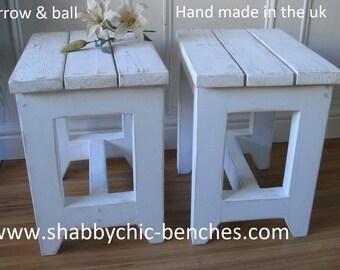 shabby chic stools