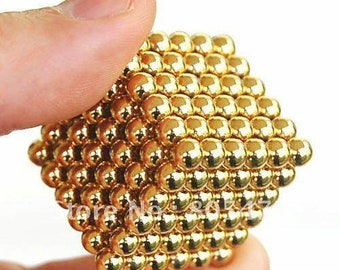 Strong Gold Magnet Balls